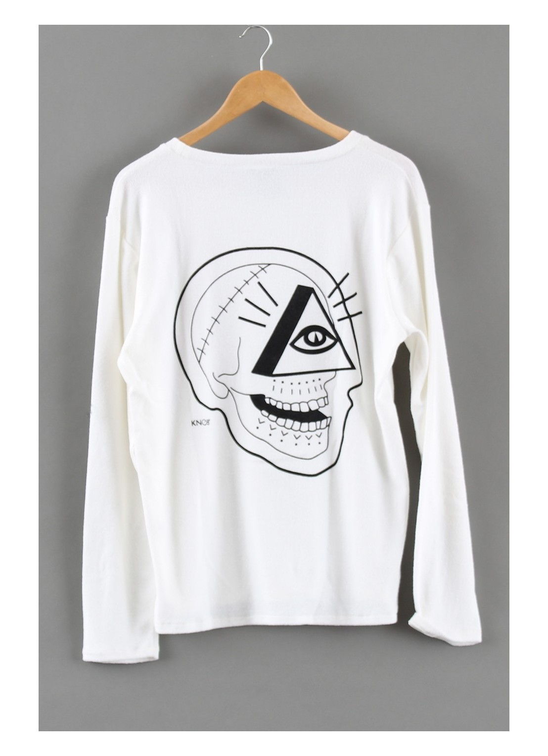 Sweatshirt White Skull 2...