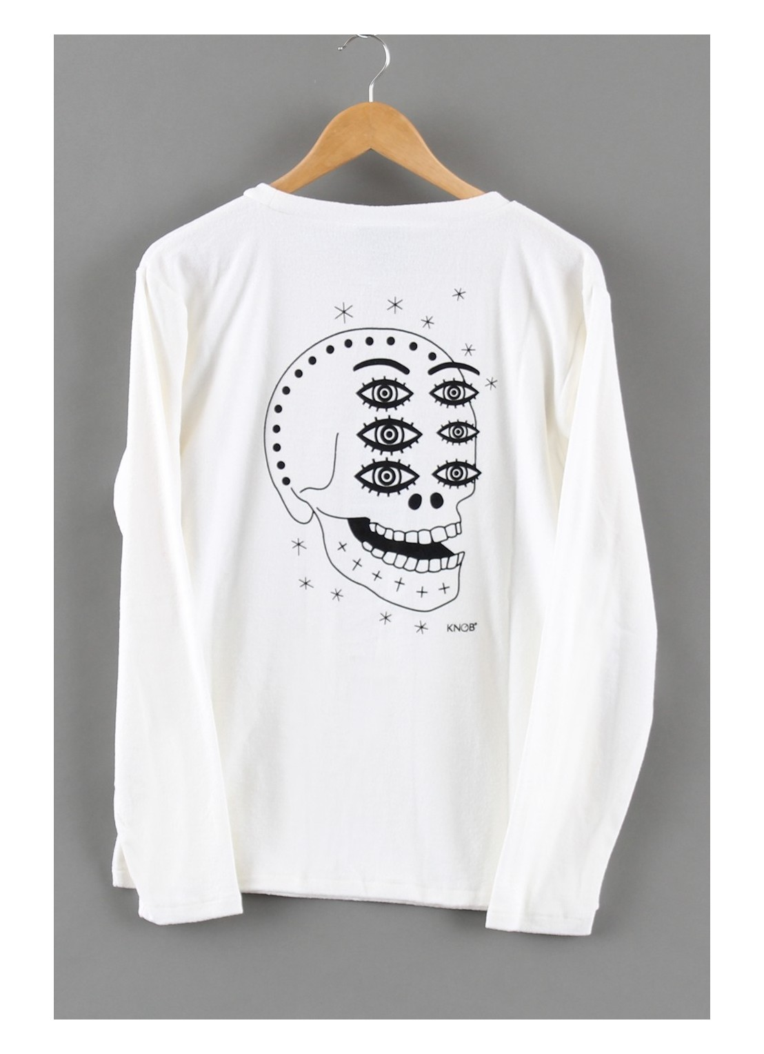 Sweatshirt White Skull 1...