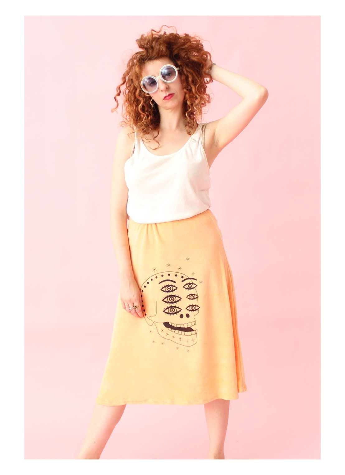 Skirt Peach Skull 1 Limited...