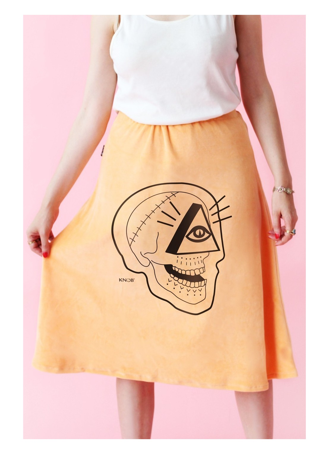 Skirt Peach Skull 2 Limited...
